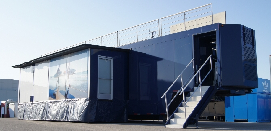 Double Expanding Trailer With Rooftop Deck Mogul Solutions