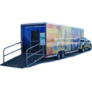 mobile showroom for b2b mobile tour